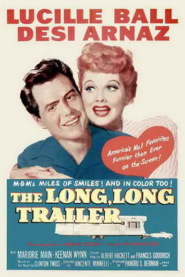 The Long, Long Trailer - 11 x 17 Movie Poster - Style B