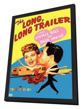 The Long, Long Trailer - 11 x 17 Movie Poster - Style A - in Deluxe Wood Frame