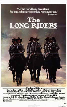 The Long Riders - 11 x 17 Movie Poster - Style A