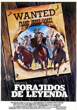 The Long Riders - 27 x 40 Movie Poster - Spanish Style A