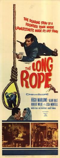Long Rope - 14 x 36 Movie Poster - Insert Style A