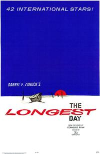 The Longest Day - 43 x 62 Movie Poster - Bus Shelter Style A