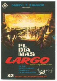 The Longest Day - 11 x 17 Movie Poster - Spanish Style B