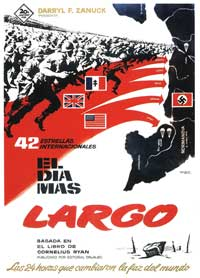 The Longest Day - 11 x 17 Movie Poster - Spanish Style C
