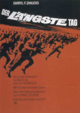 The Longest Day - 11 x 17 Movie Poster - German Style A