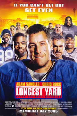 The Longest Yard - 11 x 17 Movie Poster - Style B