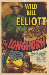 The Longhorn - 27 x 40 Movie Poster - Style A