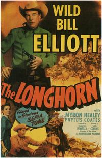 The Longhorn - 43 x 62 Movie Poster - Bus Shelter Style A