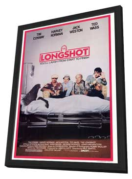 The Longshot - 27 x 40 Movie Poster - Style A - in Deluxe Wood Frame