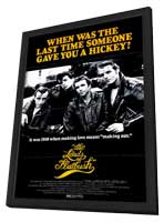 The Lords of Flatbush - 27 x 40 Movie Poster - Style A - in Deluxe Wood Frame