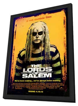 The Lords of Salem - 27 x 40 Movie Poster - Style B - in Deluxe Wood Frame