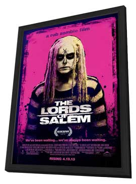 The Lords of Salem - 27 x 40 Movie Poster - Style C - in Deluxe Wood Frame