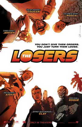 The Losers - 11 x 17 Movie Poster - Style A