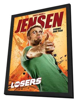 The Losers - 11 x 17 Movie Poster - Style C - in Deluxe Wood Frame