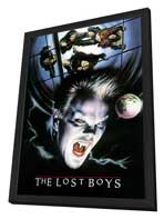 The Lost Boys - 11 x 17 Movie Poster - Style C - in Deluxe Wood Frame