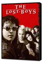 The Lost Boys - 11 x 17 Movie Poster - Style D - Museum Wrapped Canvas