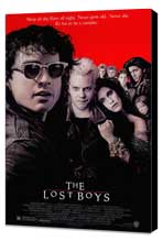 The Lost Boys - 27 x 40 Movie Poster - Style A - Museum Wrapped Canvas