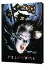 The Lost Boys - 27 x 40 Movie Poster - Style B - Museum Wrapped Canvas