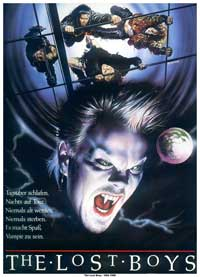 The Lost Boys - 11 x 17 Movie Poster - German Style A