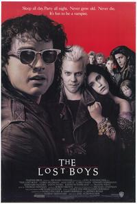 The Lost Boys - 43 x 62 Movie Poster - Bus Shelter Style A