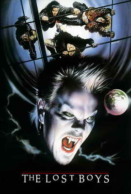 The Lost Boys - 27 x 40 Movie Poster - Style B