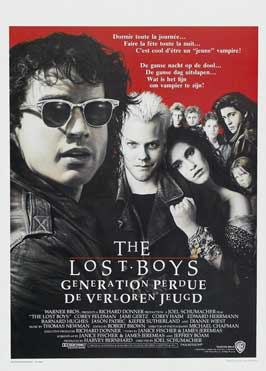 The Lost Boys - 27 x 40 Movie Poster - Belgian Style A