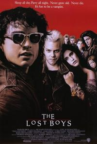 The Lost Boys - 11 x 17 Movie Poster - Style A - Museum Wrapped Canvas