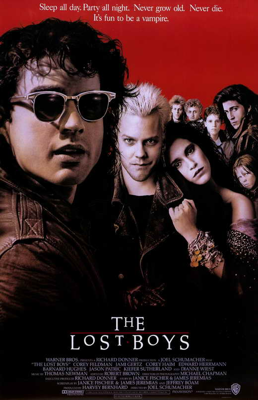 the lost boys movie posters from movie poster shop