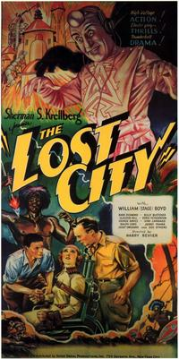The Lost City - 11 x 17 Movie Poster - Style B