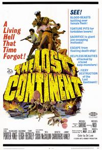 The Lost Continent - 11 x 17 Movie Poster - Style A