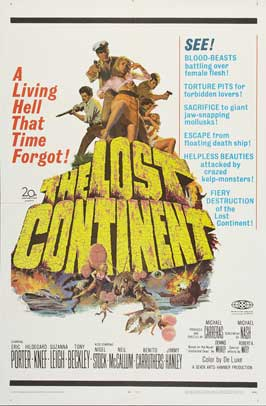 The Lost Continent - 27 x 40 Movie Poster - Style C