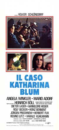 The Lost Honor of Katharina Blum - 13 x 28 Movie Poster - Italian Style A