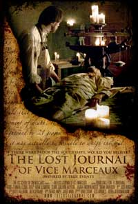 The Lost Journal of Vice Marceaux - 27 x 40 Movie Poster - Style A