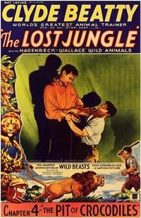 The Lost Jungle - 43 x 62 Movie Poster - Bus Shelter Style A