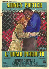 The Lost Man - 27 x 40 Movie Poster - Italian Style A
