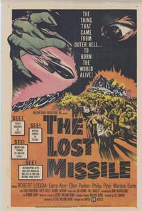The Lost Missile - 43 x 62 Movie Poster - Bus Shelter Style A