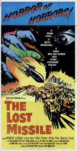 The Lost Missile - 20 x 40 Movie Poster - Style A