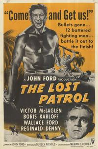The Lost Patrol - 11 x 17 Movie Poster - Style B