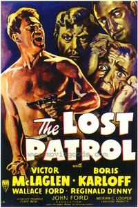 The Lost Patrol - 43 x 62 Movie Poster - Bus Shelter Style A
