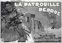 The Lost Patrol - 11 x 17 Movie Poster - French Style B