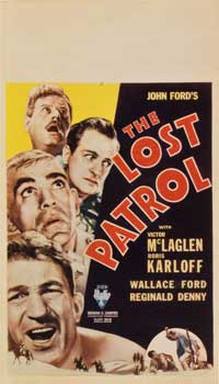 The Lost Patrol - 27 x 40 Movie Poster - Style D