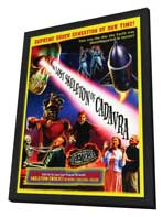 The Lost Skeleton of Cadavra - 27 x 40 Movie Poster - Style A - in Deluxe Wood Frame