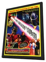 The Lost Skeleton of Cadavra - 11 x 17 Movie Poster - Style A - in Deluxe Wood Frame