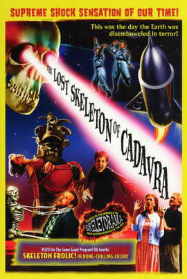 The Lost Skeleton of Cadavra - 27 x 40 Movie Poster - Style A