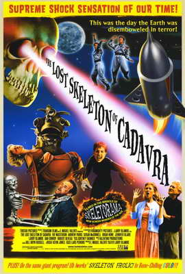 The Lost Skeleton of Cadavra - 27 x 40 Movie Poster - Style B