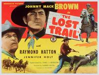 The Lost Trail - 11 x 14 Movie Poster - Style A