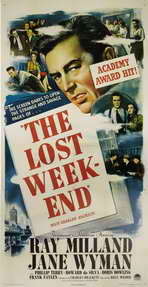 The Lost Weekend - 27 x 40 Movie Poster - Style B