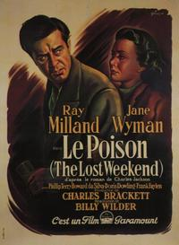 The Lost Weekend - 11 x 17 Movie Poster - French Style A