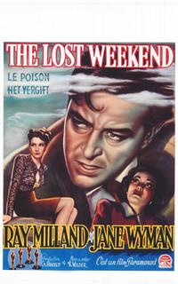 The Lost Weekend - 11 x 17 Movie Poster - Belgian Style A