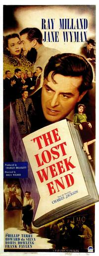 The Lost Weekend - 14 x 36 Movie Poster - Insert Style A